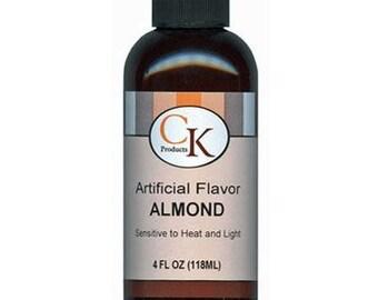 4 oz Almond Flavor - Artificial Flavoring KOSHER