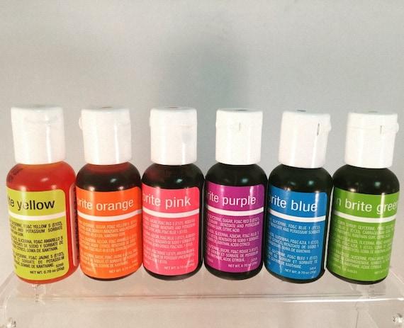 ChefMaster Liqua-gels® 0.70 oz Food Color ALL 36 COLORS Available!!!