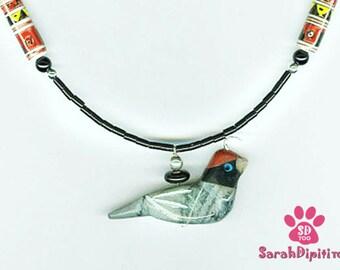 Quail Necklace,Sterling Silver Quail Necklace,Hand Carved Quail Necklace,Quail Pendant,Quail Jewelry, Silver QuailJewelry,Southwest Quail