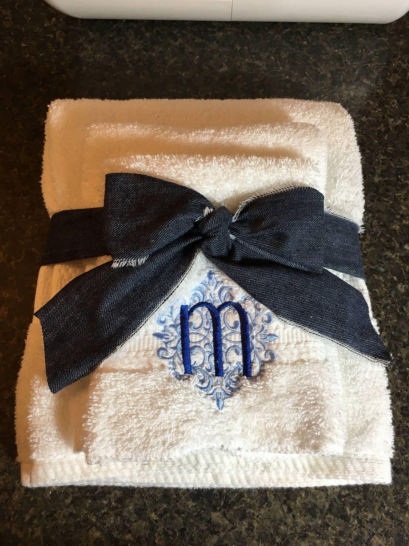 Towel Setmomembroidered Towelsgift For Herwedding Gift