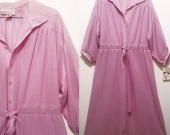 Vintage Violet Winter Dress