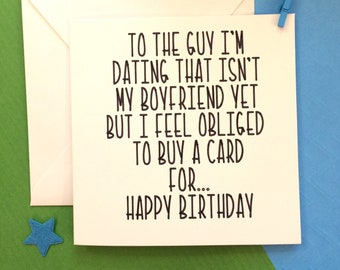Birthday gift ideas for a guy you just started hookup