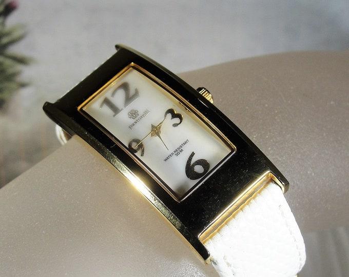 PASTORELLI Wrist Watch, Womens Fashion Wrist Watch, Analog Face, Genuine Leather Band, Quartz Movement, Vintage Wrist Watch