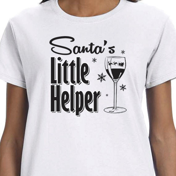 Santa's Little Helper, Christmas T-Shirt, Christmas Present 100% Cotton T-shirt