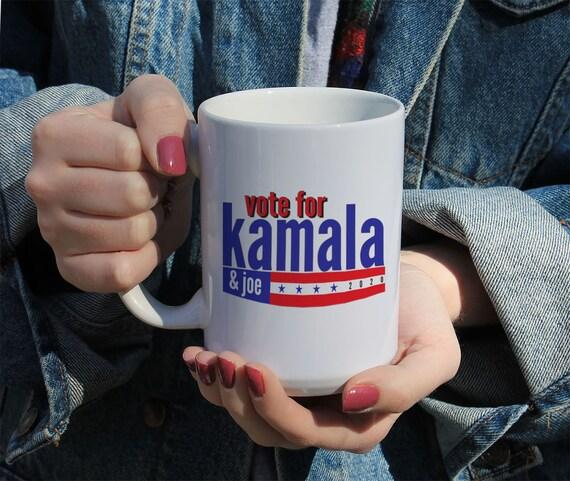 Vote For Kamala, Joe Biden 2020, Kamala Harris, Vote Blue, Political Coffee Mug, Biden For President, Gift Mug 11 or 15 oz White Ceramic Mug