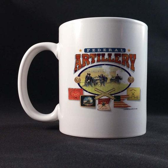 Federal Artillery 150th Civil War Sesquicentennial Gift Mug 11 or 15 oz White Ceramic Mug