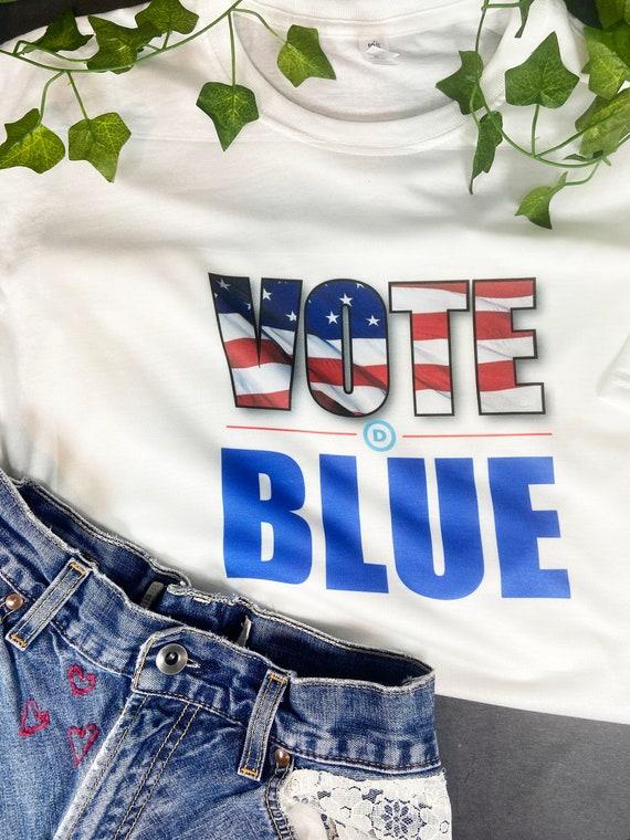 Vote Blue T-shirt, Biden Harris 2020, Election 2020, Joe Biden, Kamala Harris Shirt, Democrat Shirt, Donation to Campaign for each sale