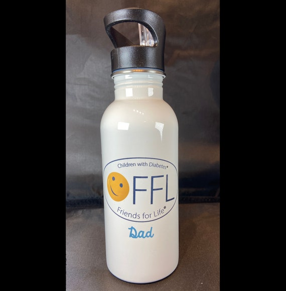 CWD Fundraiser Stemless Stainless Steel Water Bottle 20 oz. 6 Designs Available. Pick your design at checkout from the pulldown menu.