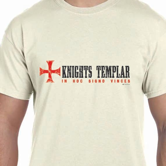 Nights Templar Printed 100% Cotton Gift T-Shirt