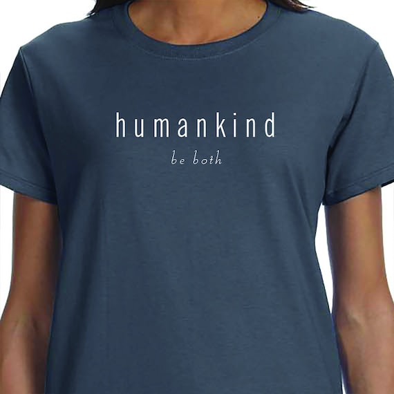 Human Kind, Anti Gun, Activism, March for our lives, T-Shirt Printed 100% Cotton Gift T-Shirt