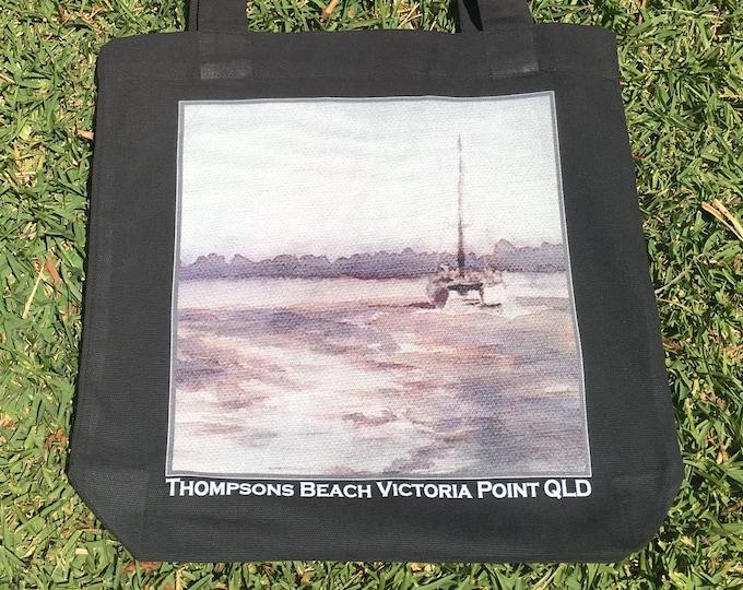 Thompsons Beach Ink study design Tote Bag
