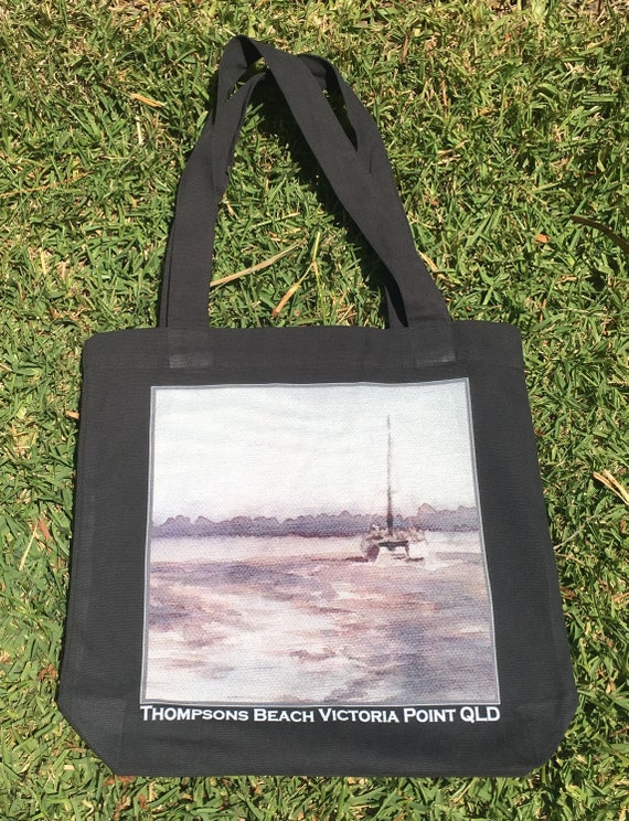 97190f1bbfd Thompsons Beach Ink study design Tote Bag   Etsy