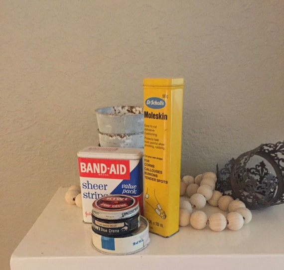 Vintage Advertising Tins & Jar from 1960's