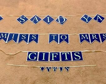 Bridal Shower Banner Set