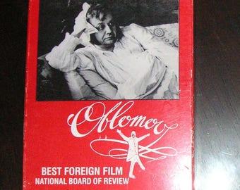 RARE 1979 Oblomov VHS Russian Drama with English Subtitles, Directed by Nikita Mikhalkov