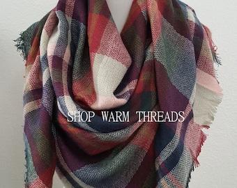 ca79ac0a0e0 Oversized scarf | Etsy
