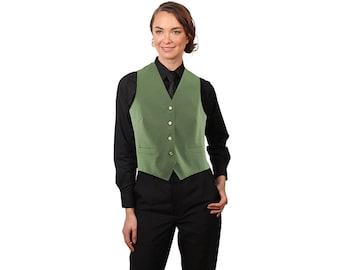 Women's Sage Adjustable Back Dress Vest