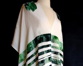 Silk Tallit: Sage