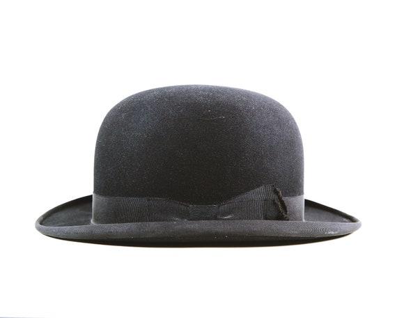 Vintage Men s Royal Stetson Bowler Hat With Box 0b18221eb86