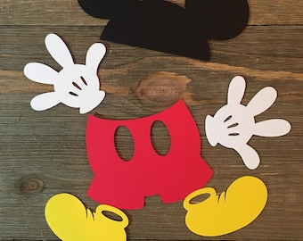 Mickey Mouse Birthday Party Bags Favor Treat