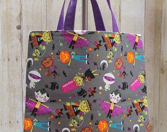 Halloween Monster Tote / Bag / Trick or Treat