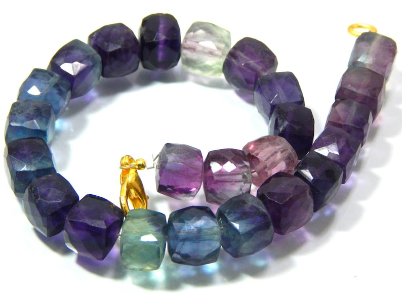 63/%OFF Fluorite Smooth Box Beads 3D Cube Shape 5X4.Mm Approx 17Inches 100 Percent Natural Top Quality Wholesale Price New Arrival