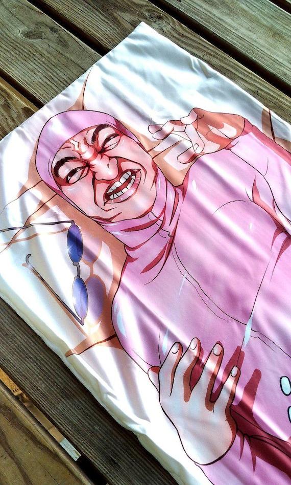 Pink Guy Mini Dakimakura Body Pillow