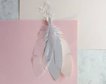 Feather wedding name places