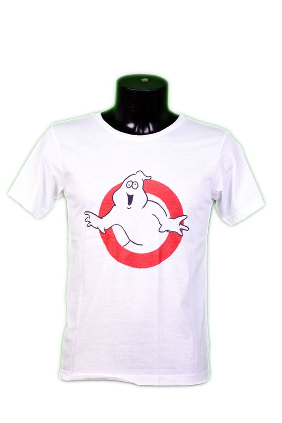 T-SHIRT SOS FANTOMES white // ghostbusters