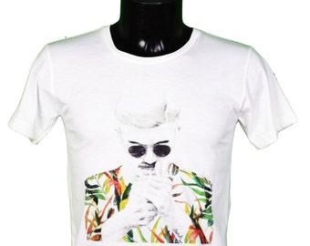 t-shirt illustration album joy division unknown pleasures // joy division cover album t-shirt - hipster drawing // gl boutik