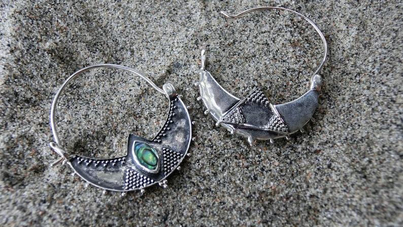 Abalone Earrings