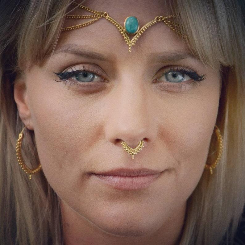 Brass Septum Jewelry