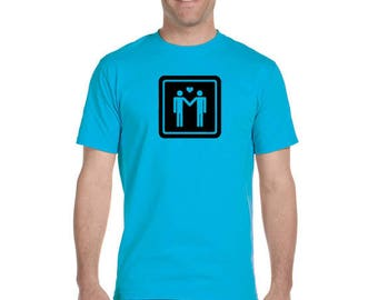 Two Gay Men T-Shirt
