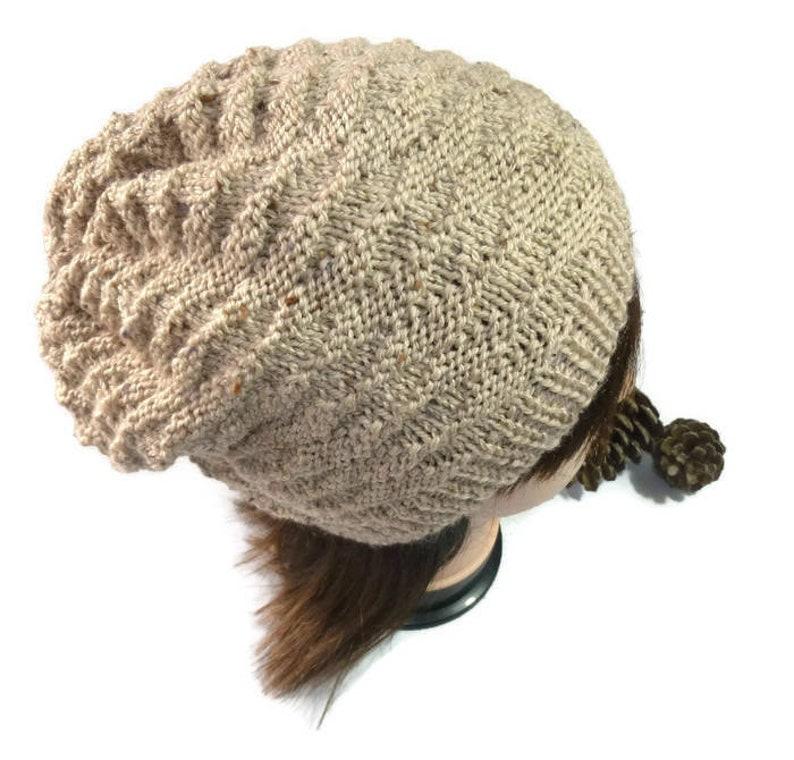 85b502ae828 Ladies Beanie. Mens wool Beanie. Mens Knit hat. Knitted