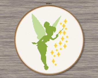 Tinker Bell - PDF Cross Stitch Pattern