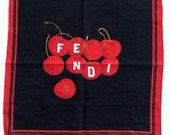 Fendi Handkerchief Scarf Vintage Woman