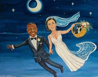 Personalised Wedding Paintings