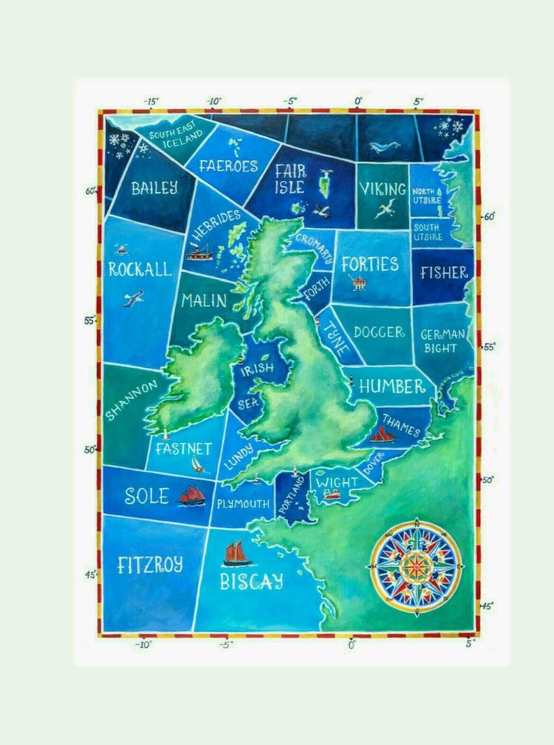 Shipping Forecast Map image 0