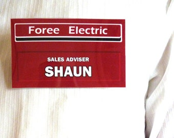 Shaun of The Dead. Fancy dress badge. Mary Also available. Can be personalised