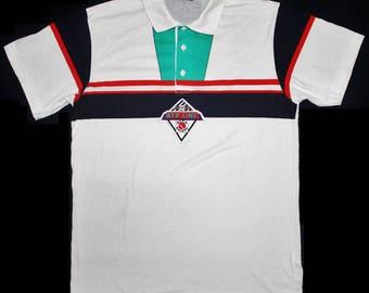 81ef4807b230c2 VINTAGE 80s ADIDAS ATP line tennis stefan edberg ivan lendl polo jersey t  shirt