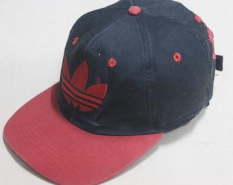 0f5ec9422 VINTAGE ADIDAS TREFOIL run dmc cap hat hip hop rap