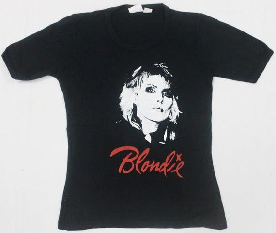 RARE VINTAGE 70s 1979 BLONDIE debbie harry punk ro