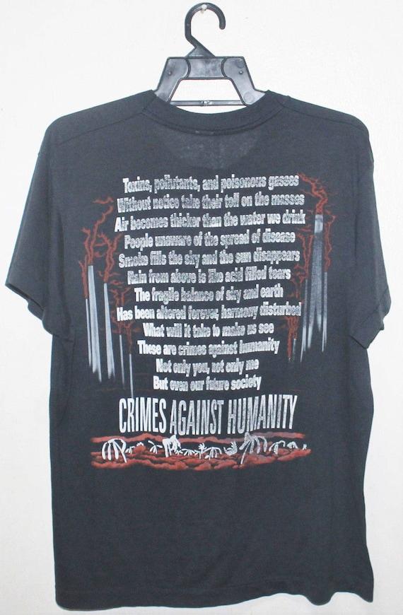 metal t concert rock tour 1990 shirt VINTAGE SACRED 50 50 promo thrash REICH YSwfApqO