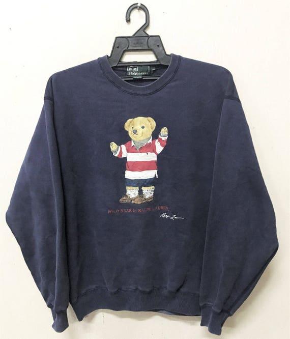 VINTAGE RALPH LAUREN polo bear sweater sweatshirt