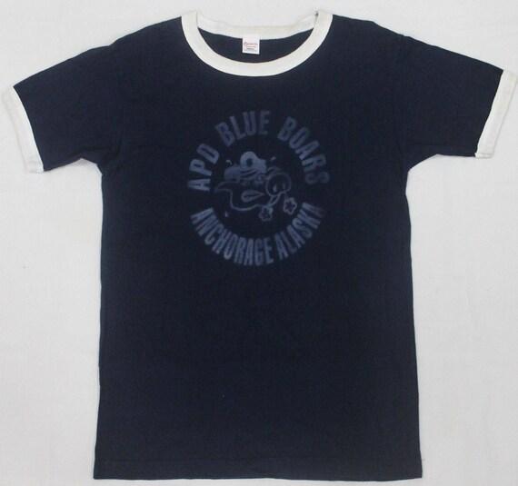 CHESWICK SUGAR co shirt anchorage alaska cane apd t blue toyo VINTAGE boars O4xgqwdO5