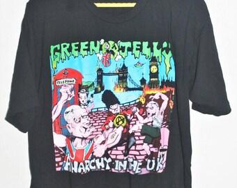 VINTAGE 1993 GREEN JELLY punk rock metal tour concert promo t shirt