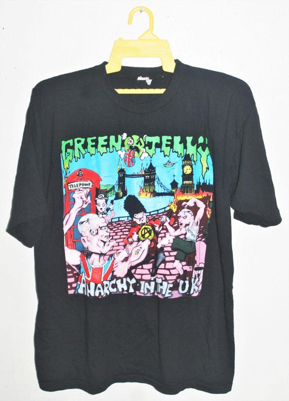 1993 tour rock JELLY GREEN metal concert punk promo VINTAGE shirt t fYxdwqd