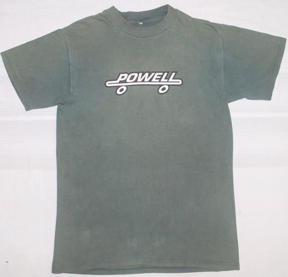 hardcore punk t skateboard skate 90s shirt rock VINTAGE PERALTA POWELL xRq1604