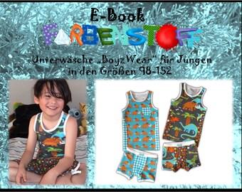 """Ebook Unterwear """"BoyzWear"""" Gr.98-152"""