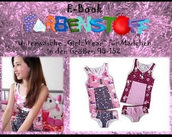 "Ebook Unterwear ""GirlzWear"" Gr.98-152"